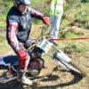 Placa Portanúmero Classic MOTO Trial 19x1,45cm